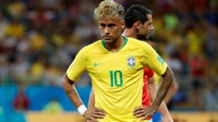 Neymar, avançado da Selecção Brasileira.