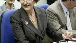 A comissária europeia Androulla Vassiliou, em foto de 2011