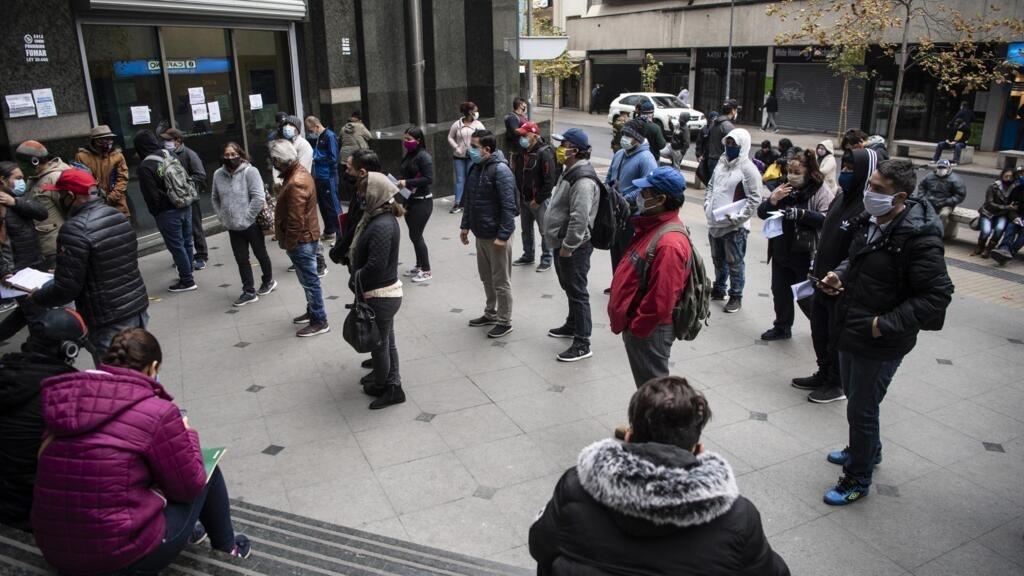 Chili: le Covid-19 fait grimper le chômage à son plus haut niveau depuis 10 ans