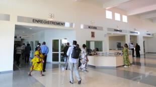 Photo d'illustration. Hall d'accueil d'un hôpital de Libreville, au Gabon.