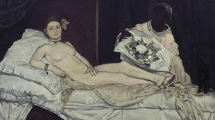 Olympia, by Edouard Manet, 1863.