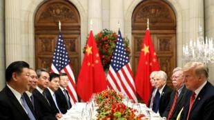Cuộc gặp giữa tổng thống Mỹ Donald Trump và chủ tịch Trung Quốc Tập Cận Bình ngày 01/12/2018 tại Buenos Aires.