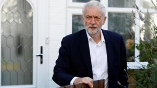 Jeremy Corbyn, líder do Partido Trabalhista.