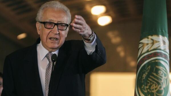 Lakhdar Brahimi doit une nouvelle fois se tourner vers la Russie et les Etats-Unis.