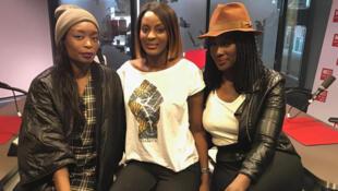Poundo Gomis, Diara Ndiaye et Anna Touré.