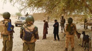 Sojojin Mali da ke fada da 'yan ta'adda a arewacin kasar
