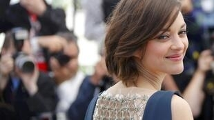 Marion Cotillard at the  Cannes Film Festival.