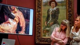 Игорь Подпорин повредил картину Ильи Репина в трех местах, в Третьяковской галерее оценили ущерб в 500 миллионов рублей