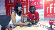 Mlimbwende aliehamia kwenye muziki Genevieve ndani ya Studio za RFI Kiswahili.
