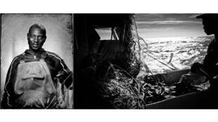 Salif, 34 ans matelot, travaille sur le Souvenir, un fileyeur de 15 mètres en baie d'Arcachon.