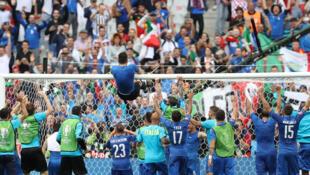 Gianluigi Buffon quiere ganar la Eurocopa 2016: Italia venció a España en octavos de final.
