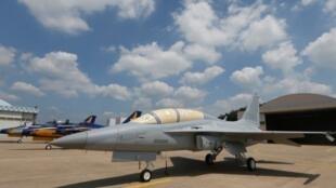 Máy bay quân sự FA-50 do Hàn Quốc sản xuất.