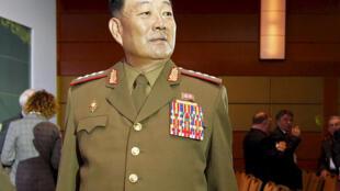 O ministro norte-coreano da Defesa, Hyon Yong Chol, ocupava o cargo há menos de um ano.