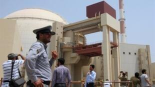 Cơ sở hạt nhân  Bushehr tại miền nam Iran ngày 21/8/ 2010.