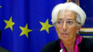 Christine Lagarde, a nova directora do BCE, em Bruxelas no passado 4 de Setembro de 2019.