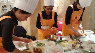 Kimchi-making workshop in Paris