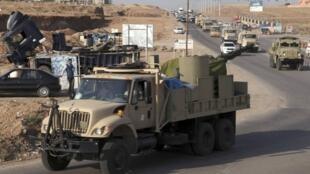 Curdistão iraquiano envia 150 peshmergas, membros de suas forças armadas, a Kobani, cidade curdo-síria, via a Turquia