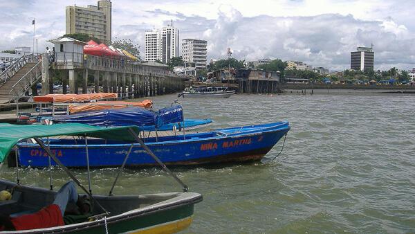Le port de Buenaventura.