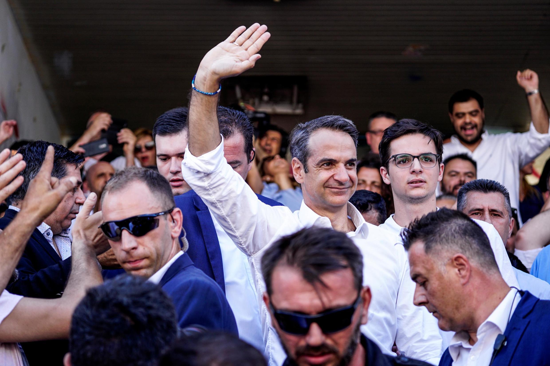 07/07/19- O partido Nova Democracia venceu as eleições legislativas antecipadas realizadas neste domingo (7) na Grécia.