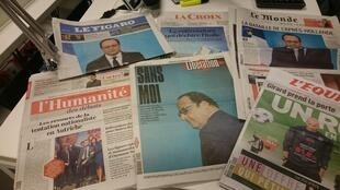 Diários franceses 02.12.2016