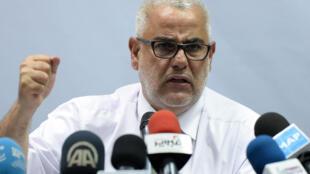 Le Premier ministre marocain Abdelilah Benkirane, leader du Parti de la justice et du développement, au pouvoir depuis 2011.