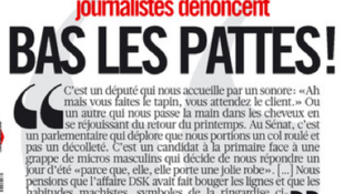 The petition against sexism written by female journalists in daily Libération.