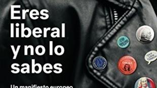 """Detalle de la portada de """"Eres liberal y no lo sabes"""", de Beatriz Becerra."""