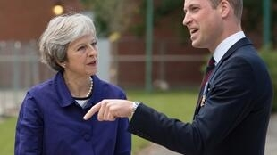 Theresa May Prince William