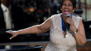 Aretha Franklin vai gravar novo CD