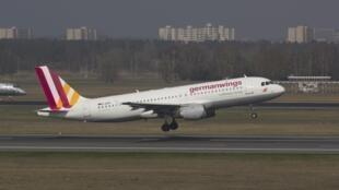 德國之翼航空公司的空客A320 資料照片