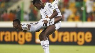 Les Ghanéens célèbrent leur victoire avec une manière bien à eux...