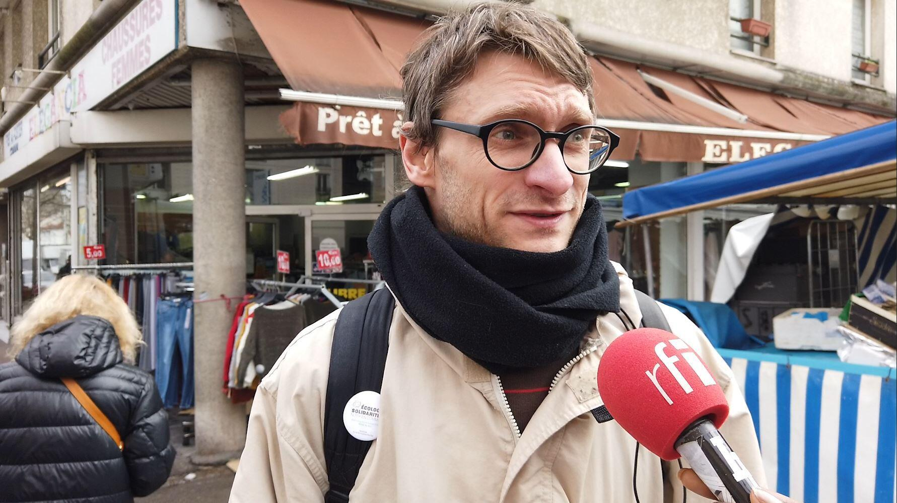 Baptiste Gerbier is a member of France's Green party, which is hoping to make gains in local elections on 15 and 22 March.