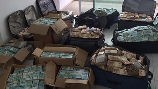 """A PF encontrou um endereço em Salvador que seria, supostamente, utilizado por Geddel Vieira Lima como """"bunker"""" para armazenagem de dinheiro em espécie."""