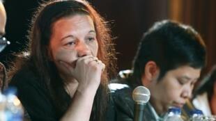 Serge  Atlaoui's wife, Sabine, appealed to Indonesian President Joko Widodo to spare her husband