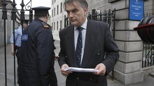 Ian Bailey at the High Court in Dublin following a previous European arrest warrant in connection with the death of Sophie Toscan du Plantier, 24 April 2010.