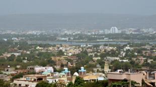 Vue générale de Bamako, capitale du Mali. Photo prise en mars 2015.