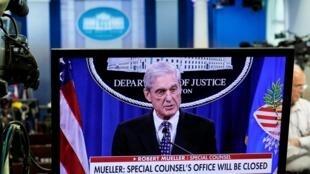 Le procureur spécial Robert Mueller, le 29 mai 2019.
