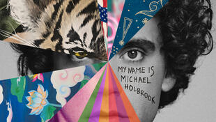 Pochette du nouvel album de MIKA, «My name is Michael Holbrook».