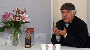 حافظ موسوی در مراسم دومین جایزه شعر شاملو - مؤسسه بهاران - تهران - ۲۱ آذر ۱۳۹۵