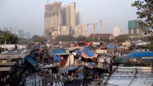 View of Dhobi Ghat in Mumbai