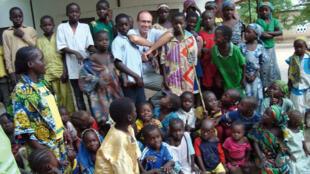 Father Georges Vandenbeusch in Nguetchéwé village last year