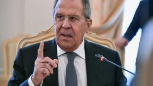 លោក Sergei Lavrov រដ្ឋមន្រ្តីការបរទេសរុស្ស៊ី