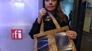 A empresária carioca Venétia dos Santos, da startup Flying to the Sun.
