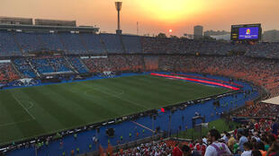 Le stade se remplit avant le début du match final de la CAN 2019 au Caire, ce vendredi 19 juillet 2019.
