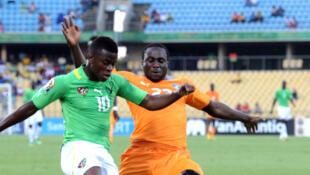 Le Togolais Floyd Ayité lors de la CAN 2013.