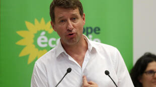Europe Ecology Green party and their leader Yannick Jadot in Toulouse for their 'Days of Summer' meeting