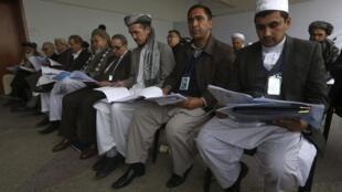 Заседание Лойа-Джирга в Кабуле 22/11/2013