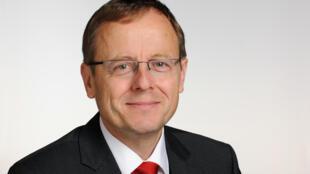 Jan Woerner, directeur général de l'ESA.