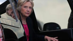 خانم هیلاری کلینتون، نامزد حزب دموکرات