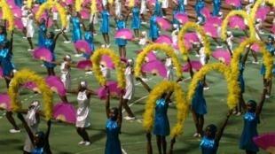 Le défilé en l'honneur du 50e anniversaire de l'indépendance du Congo-Brazzaville s'est déroulé le 15 août 2010